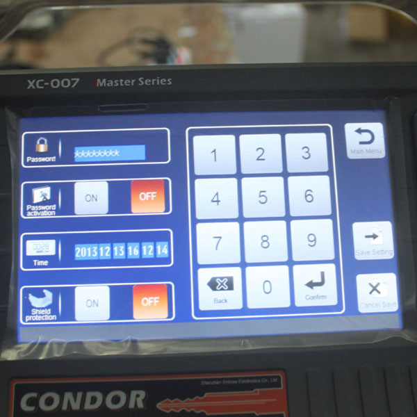IKEYCUTTER CONDOR XC-007 Master Series Key Cutting Machine