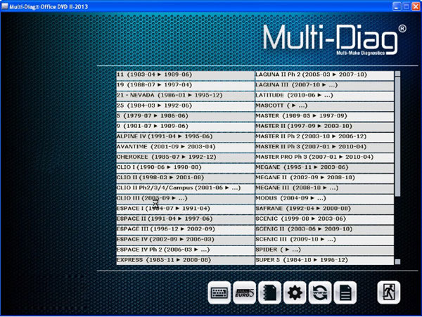 Multi-Di@g Access J2534 Pass