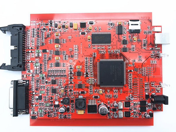 New Red PCB Display-2