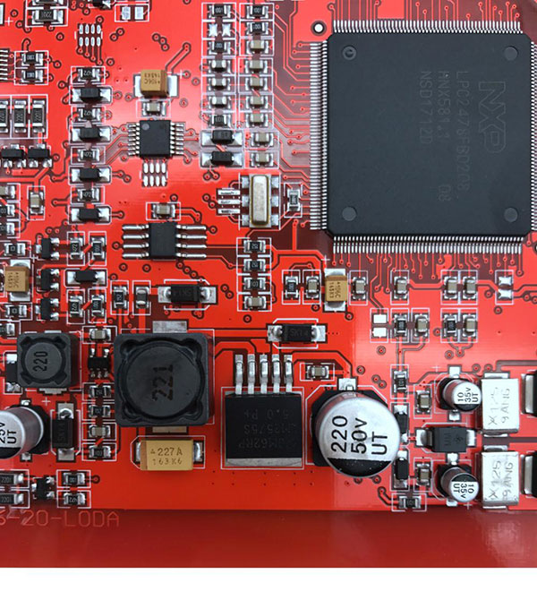 New Red PCB Display-10