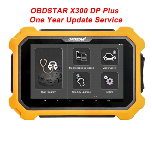 Promotion OBDSTAR X300 DP Plus One Year Update Service