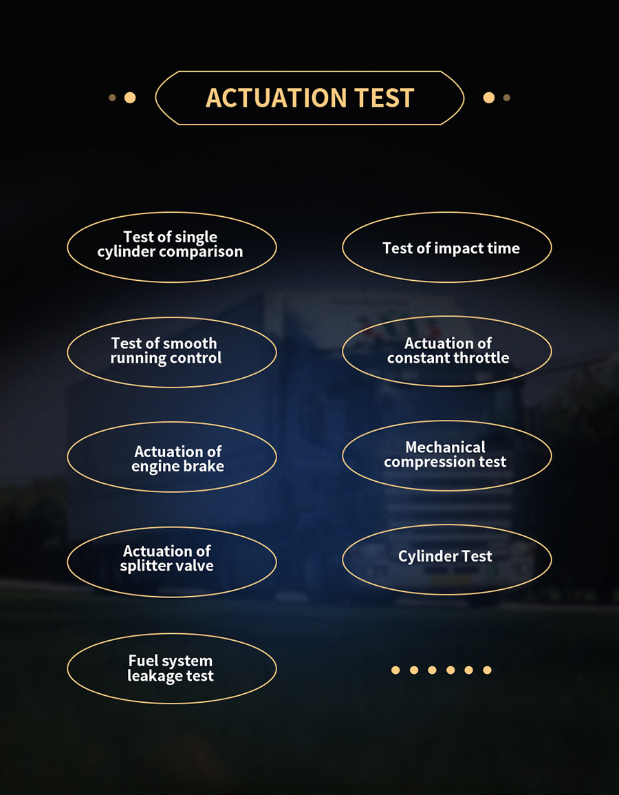 actuations test