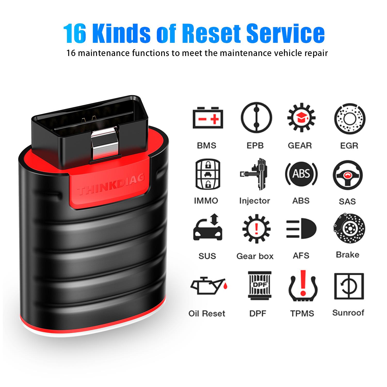 thinkdiag 16 reset service