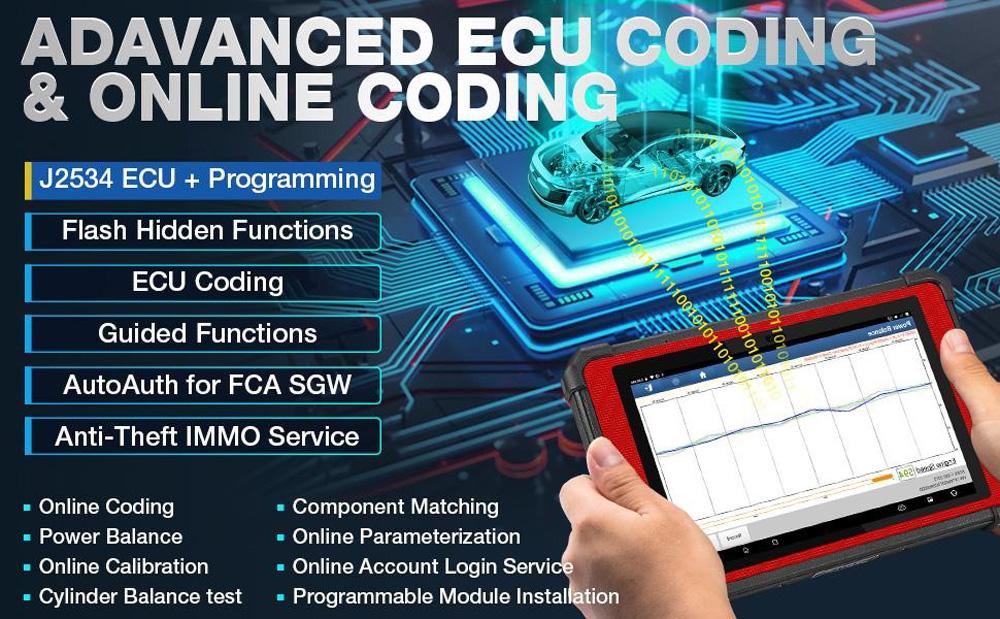 ECU Coding and Online Coding