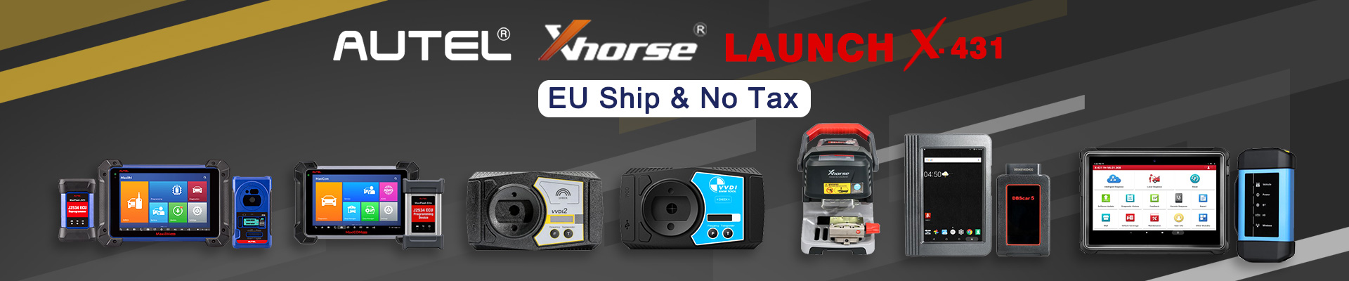 Hot Sales on Autel and Xhorse and Launch, Fast EU Ship & No Tax