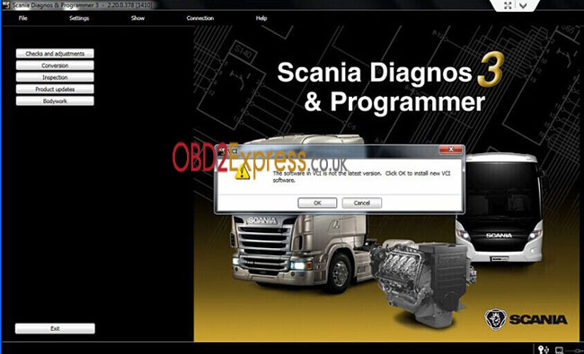 sdp3 truck diagnostic tool for scania error solution