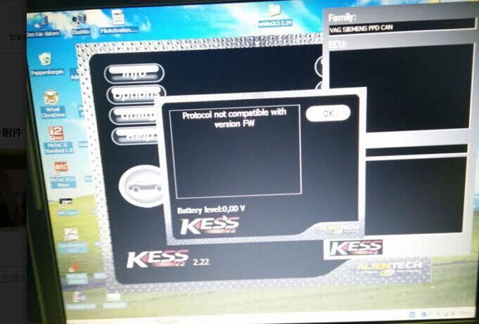 KESS V2 firmware V4 036 OBD2 tuning final 8 or 9 tokens solution