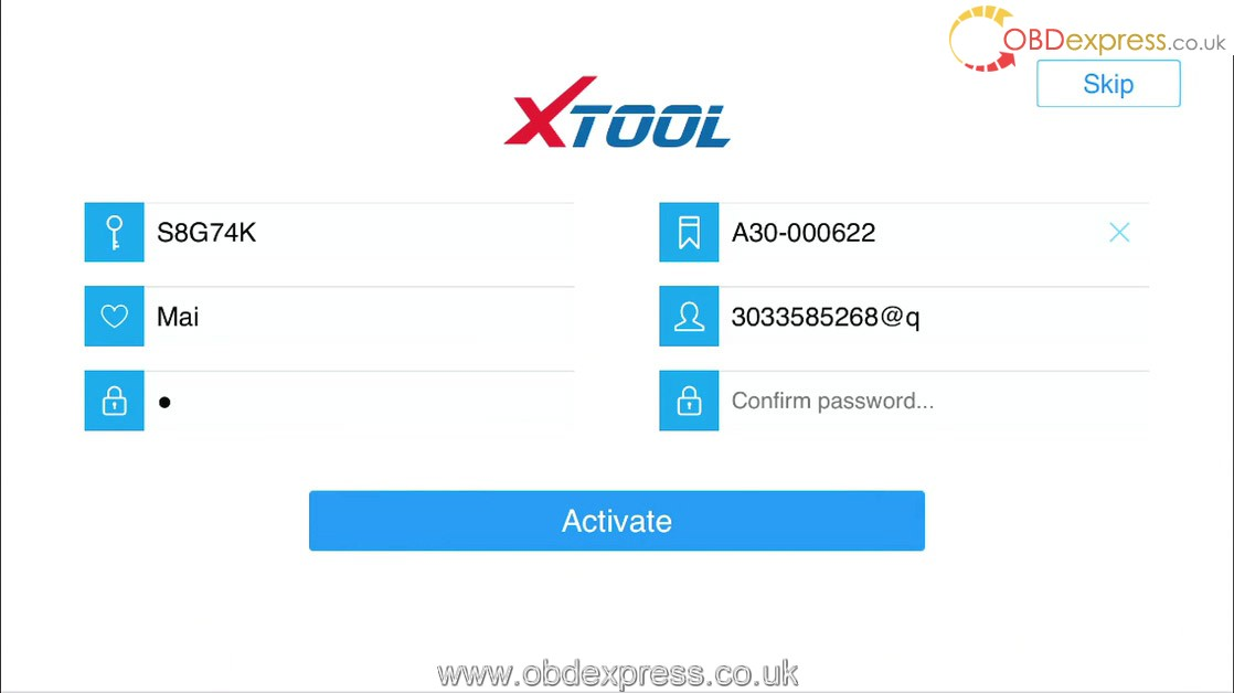 how to use xtool anyscan a30 3